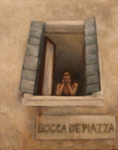 A Window on Bocca de Piazza (Venice)